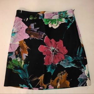 Milly Minis floral print skirt. Size 14
